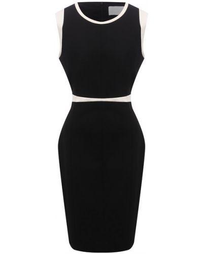 Черное платье из вискозы Boss