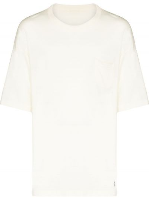 Biała t-shirt wełniana Visvim