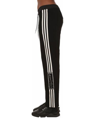 Шерстяные брюки - черные Y-3