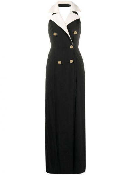 Sukienka czarny bez rękawów Elisabetta Franchi