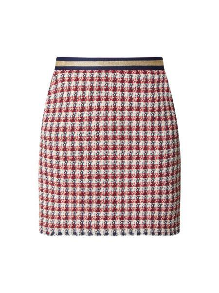 Bawełna spódnica mini frędzlami na gumce z wiskozy Jake*s Collection