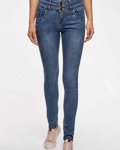 Синие джинсы Oodji