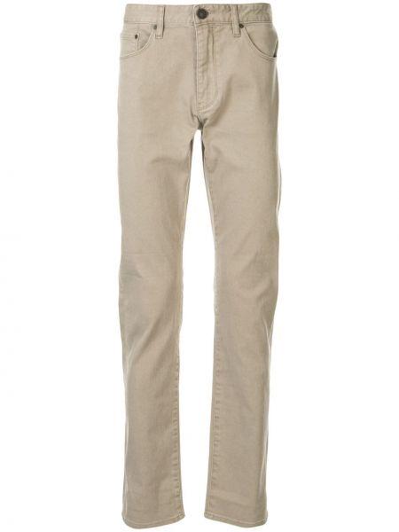 Beżowe jeansy bawełniane perły Kent & Curwen