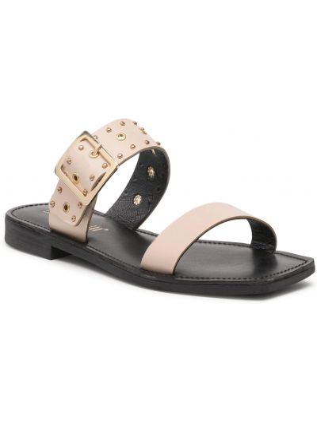 Beżowe sandały casual Carinii