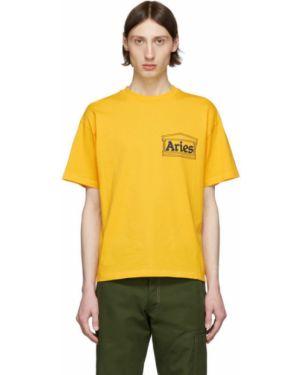 Koszula krótkie z krótkim rękawem klasyczna z kołnierzem Aries