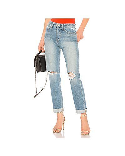 Прямые джинсы рваные mom Joe's Jeans