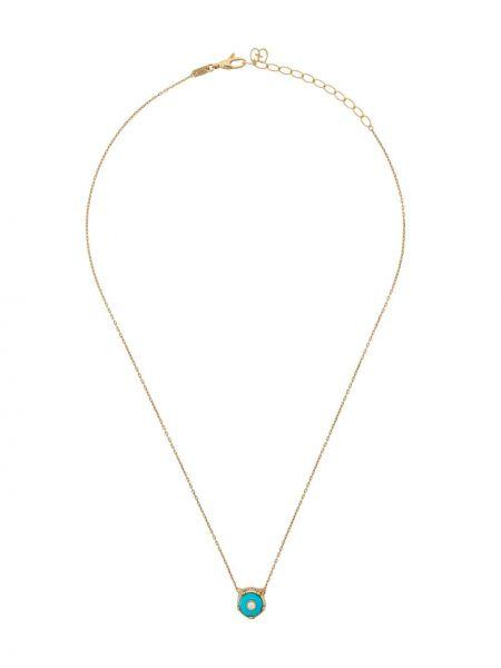 Ожерелье с подвесками с бриллиантом Gucci