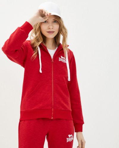Красная олимпийка Lonsdale