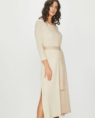 Платье макси прямое трикотажное Answear