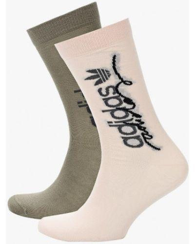 Розовые носки Adidas Originals