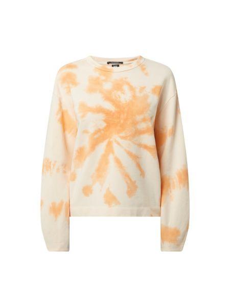 Pomarańczowa bluza bawełniana Scotch & Soda