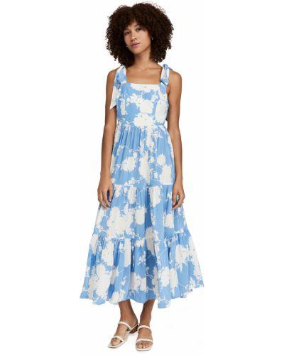 Облегающее платье - синее Yumi Kim