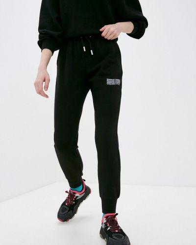 Черные спортивные брюки The Kooples