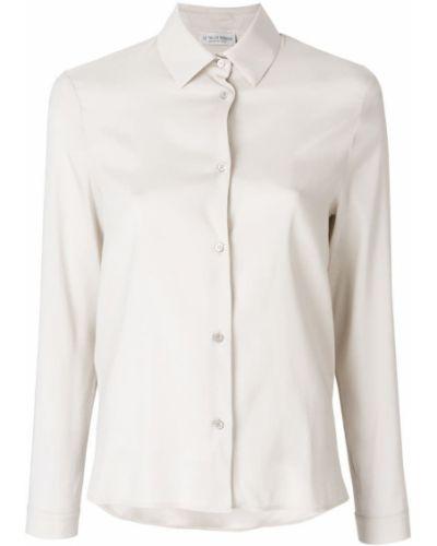 Шелковая рубашка - бежевая Le Tricot Perugia