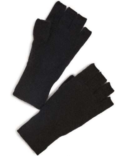 Rękawiczki bez palców - białe White + Warren