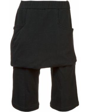 Черные шорты с поясом Thamanyah
