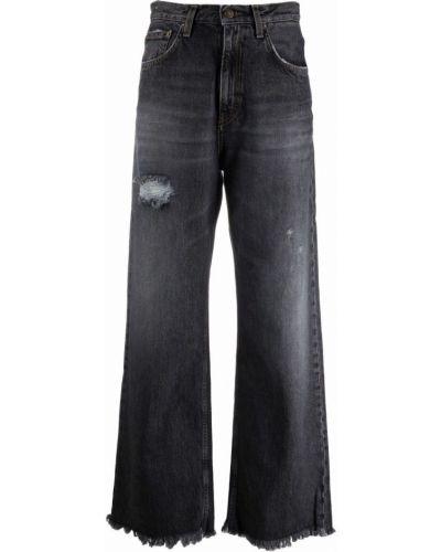 Джинсовые широкие джинсы - синие Haikure