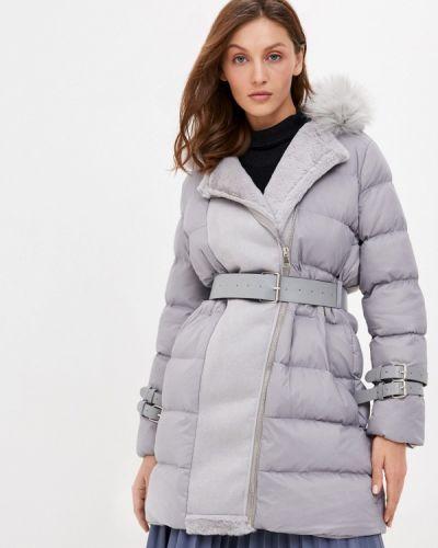 Утепленная серая куртка Fadas