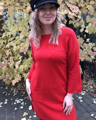 Повседневное платье мини - красное Les Etoiles Claires