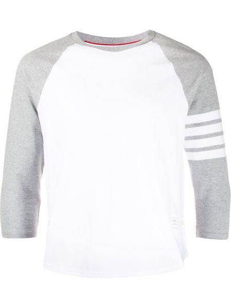 Koszula klasyczna z logo z łatami Thom Browne