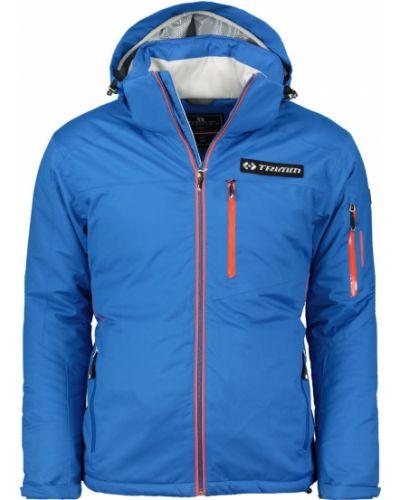 Niebieska kurtka sportowa materiałowa Trimm