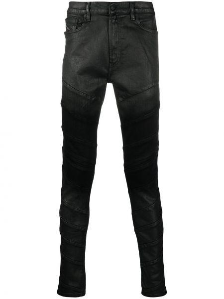 Klasyczne czarne jeansy bawełniane Diesel