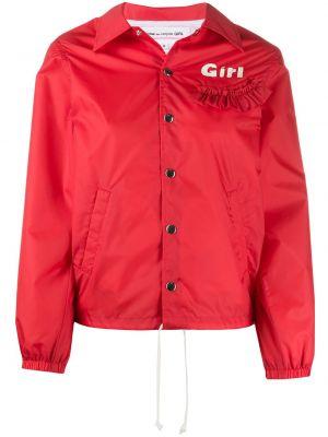 Куртка свободного кроя мятная Comme Des Garçons Girl