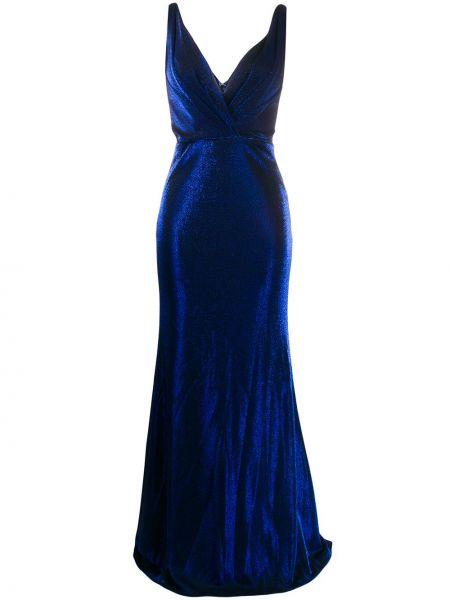 Платье с открытой спиной с запахом Blanca Vita