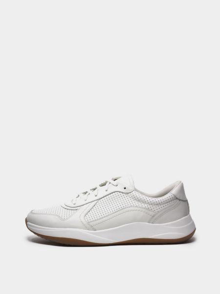 Кроссовки - белые Clarks