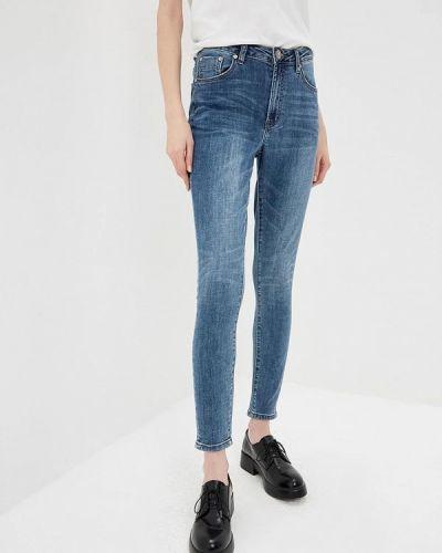 Голубые джинсы-скинни One Teaspoon