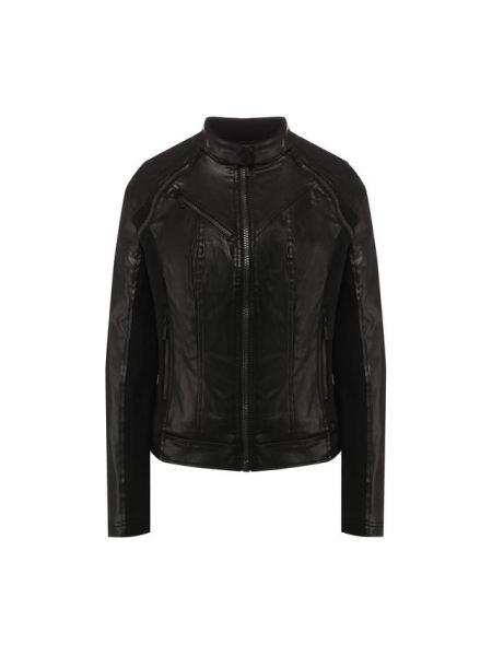 Черная куртка со вставками с карманами из плотной ткани Harley Davidson