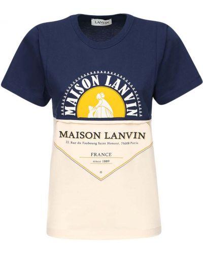 Трикотажная футболка Lanvin