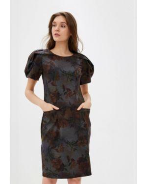 Платье футляр серое мадам т
