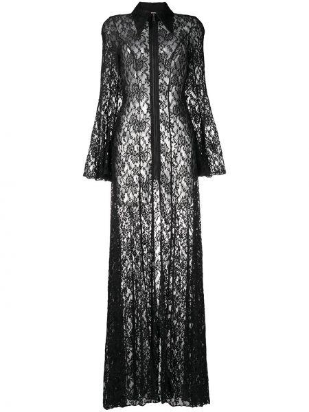 Платье макси длинное - черное Natasha Zinko
