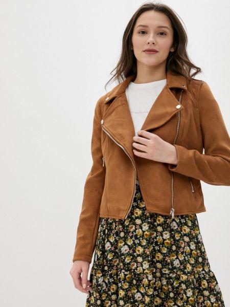 Кожаная куртка весенняя клубная Concept Club