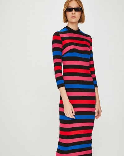 Платье миди трикотажное из вискозы Answear