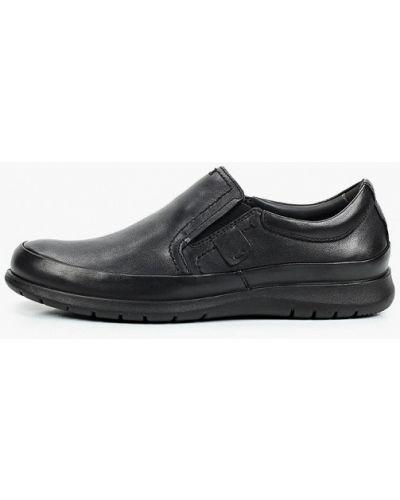 Черные весенние туфли Salamander