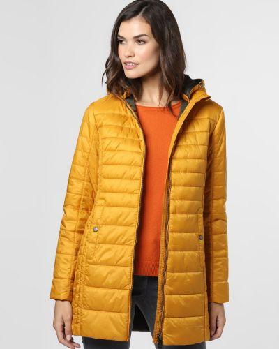 Żółty płaszcz ocieplany Franco Callegari