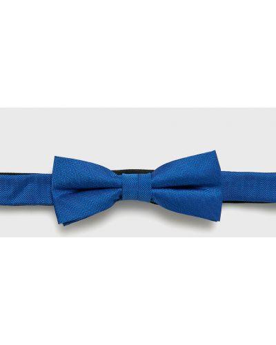 Krawat czarny zielony S.oliver Black Label