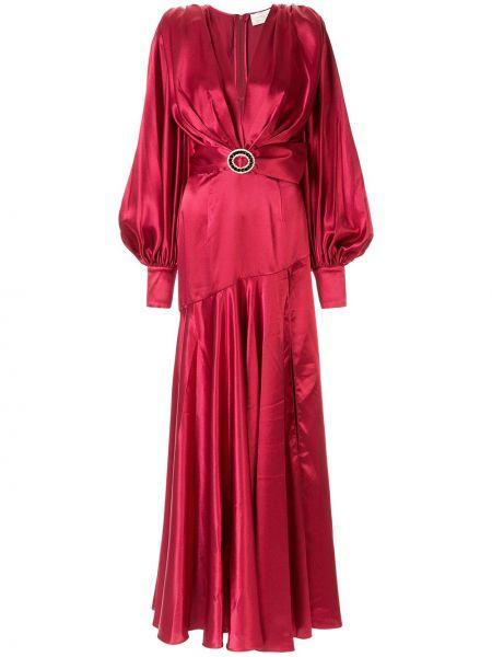 Платье с поясом с декольте на пуговицах Bronx And Banco