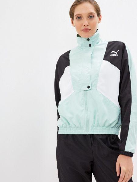 Бирюзовая куртка Puma