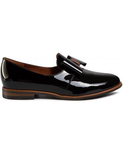 Кожаные туфли - черные Sergio Bardi