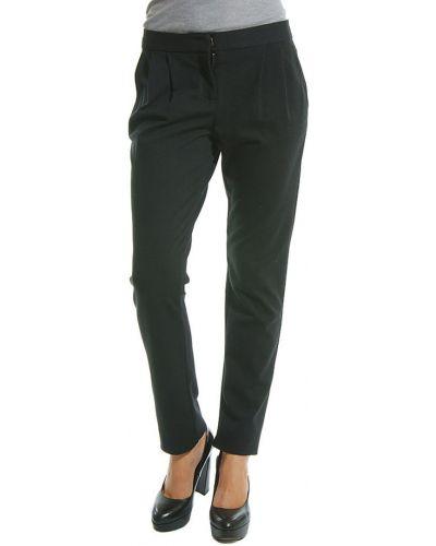 Черные брюки из вискозы Patrizia Pepe