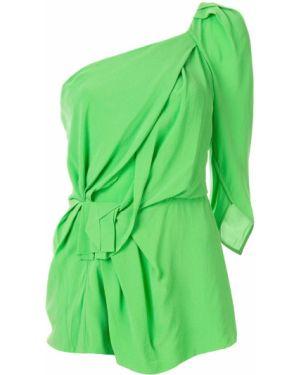 Блузка на молнии асимметричная Kitx