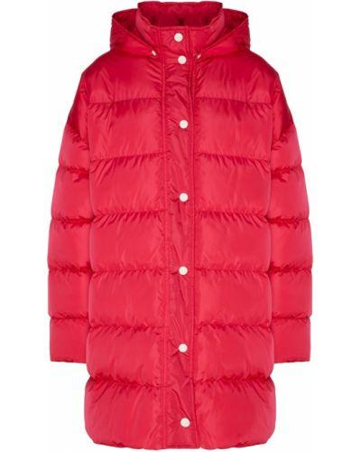 Куртка с капюшоном утепленная стеганая Msgm