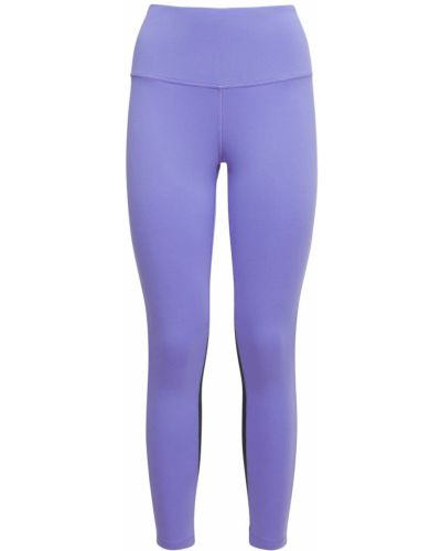 Леггинсы эластичные - фиолетовые Reebok Classics