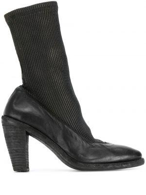 Нейлоновые черные носки Guidi