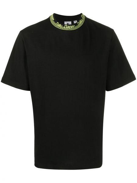 Koszula krótkie z krótkim rękawem z logo prosto Daily Paper