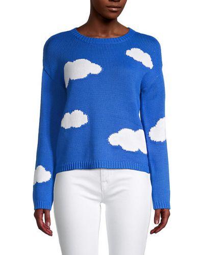 Мягкий хлопковый длинный свитер с длинными рукавами 525 America