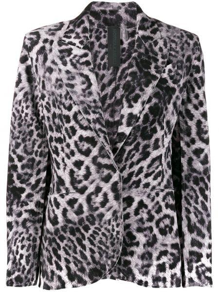 Куртка леопардовая на пуговицах Norma Kamali